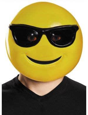 Sunglasses Emoji Adult's Mask Costume Accessory