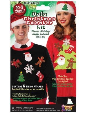DIY Ugly Christmas Sweater Adults Costume Kit