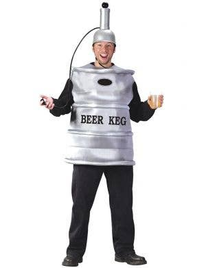 Beer Keg Men's Happy Hour Funny Costume