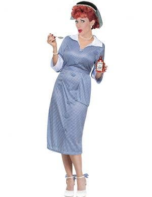I Love Lucy Women's Vitameatavegamin Fancy Dress Costume