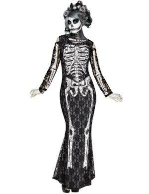 Lacy Bones Women's Skeleton Halloween Costume