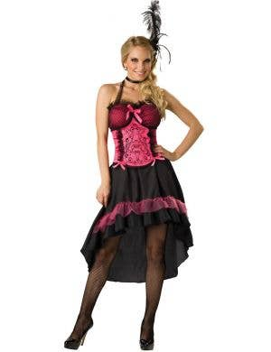 Saloon Gal Women's Fancy Dress Costume
