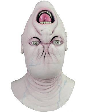Creepy Men's Deluxe Upside Down Latex Halloween Mask