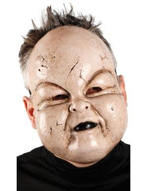 Giggles Baby Face Anarchy Wear Halloween Plastic Face Mask Costume Accessory Main Image