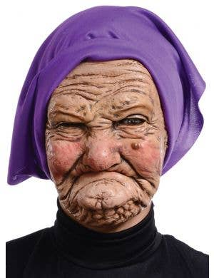 Old Men Gramps Latex Novelty Men's Mask Main Image