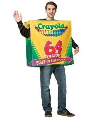 Crayola Crayon Box Adult's Costume