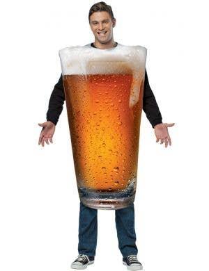 Get Real Beer Pint Men's Novelty Costume
