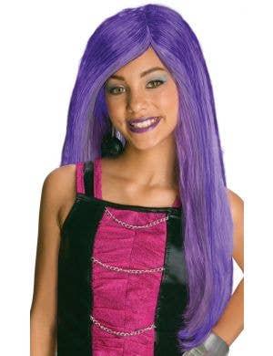Spectra Vondergeist Monster High Girls Costume Wig