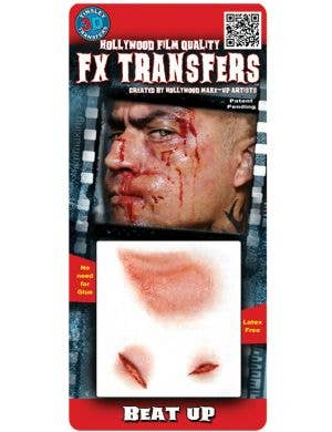 Realistic Beat Up 3D Special FX Wound Transfers