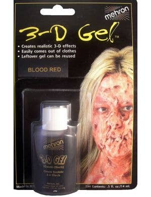 3-D Gel Blood Halloween Effects - 14ml