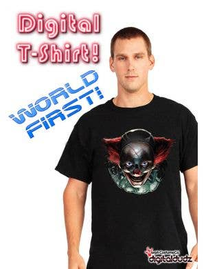 Digital Dudz - Freaky Clown Moving Eyes Shirt