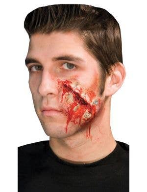 Safety Pinned Horror Latex Special Effects
