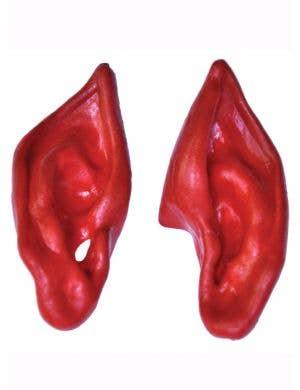 Slip On Costume Ears - Red