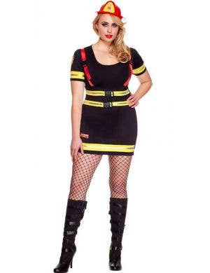 Fire Hazard Honey Sexy Plus Size Costume