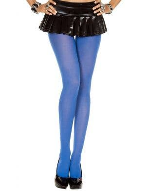 Opaque Women's Royal Blue Costume Stockings