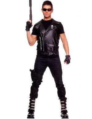 The Terminator Men's Vest Costume