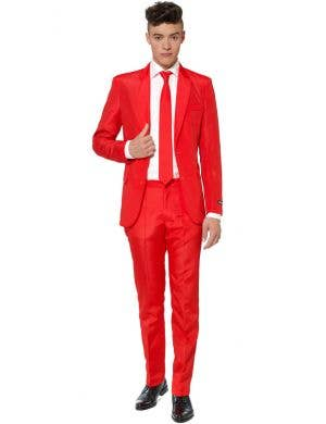 Suitmeister Bright Red Men's Novelty Suit