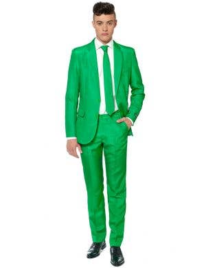 Suitmeister Green Novelty Men's Oppo Suit