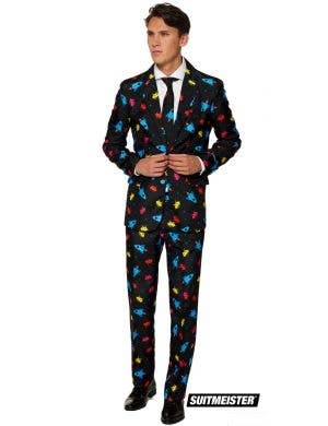Suitmeister Space Invaders Video Game Men's Novelty Suit
