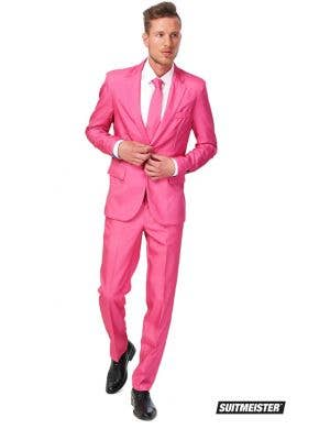 Suitmeister Pink Novelty Men's Oppo Suit