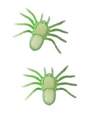Glow in the Dark Spiders Halloween Decoration - 2 Pack