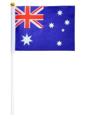Mini Hand Held Australia Day Flags - 6 Pack
