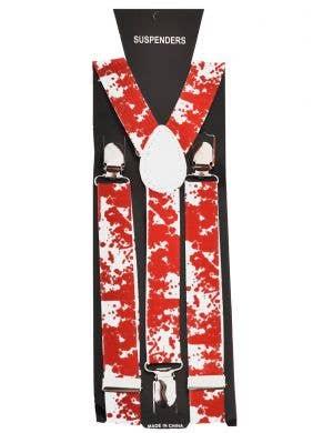 Bloody Suspender Halloween Costume Accessory