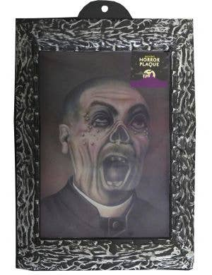 Holographic Zombie Man Moving Picture Halloween Decoration