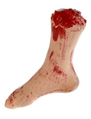Bloody Severed Foot Halloween Haunted House Prop