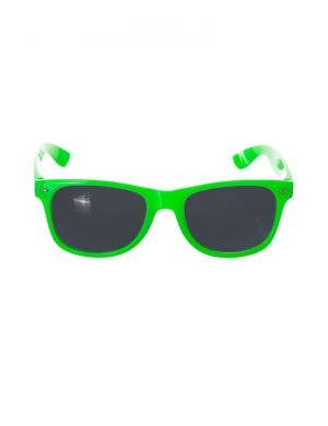 Neon Green Novelty Costume Accessory Sunglasses