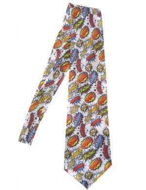 Pop Art Novelty Costume Neck Tie Accessory