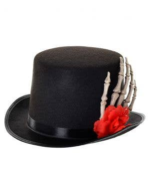 Skeleton Hand Day of the Dead Top Hat
