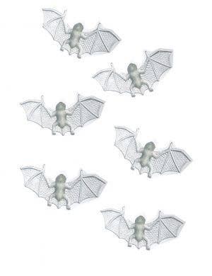 Glow in the Dark Mini Bats Halloween Decoration