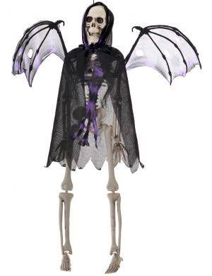 Skeleton Grim Reaper with Wings 42cm Hanging Halloween Decoration