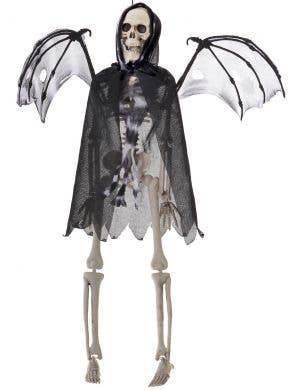 Hanging 42cm Grim Reaper Skeleton with Wings Halloween Decoration