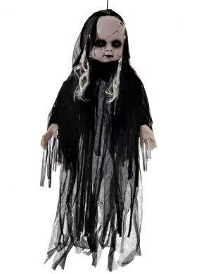 Creepy Talking and  Light Up 110cm Zombie Doll Haunted House Decoration