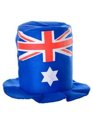 Plush Aussie Flag Novelty Australia Day Hat