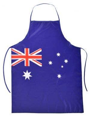 Australia Day Blue Aussie Flag Apron