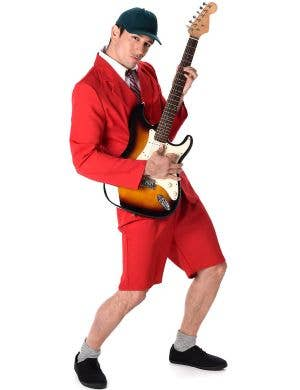 School Boy Rocker Men's Fancy Dress Costume