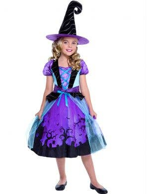 Cauldron Cutie Girls Witch Halloween Costume