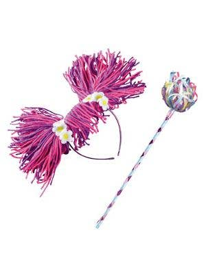 Abby Cadabby Headband and Wand Kids Accessory Set