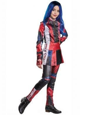 Descendants 3 - Deluxe Girls Evie Fancy Dress Costume