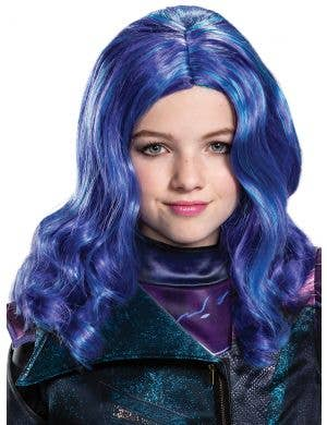 Descendants 3 - Girls Deluxe Wavy Mal Costume Wig