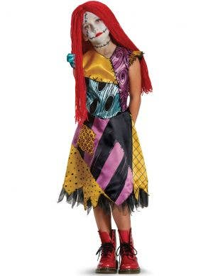 Nightmare Before Christmas Girls Deluxe Sally Costume