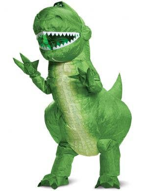 Toy Story 4 Kids Deluxe Inflatable Rex Costume