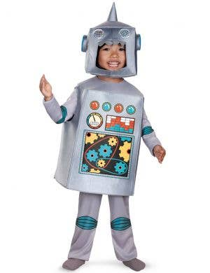 Retro Robot Toddler Boys Dress Up Costume