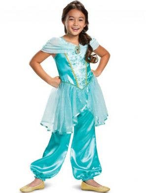 Princess Jasmine Girls Classic Dress Up Costume