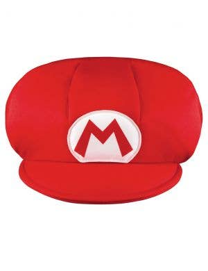 Super Mario Boys Plush Red Costume Hat