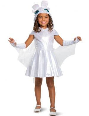 How To Train Your Dragon Classic Girls Light Fury Costume