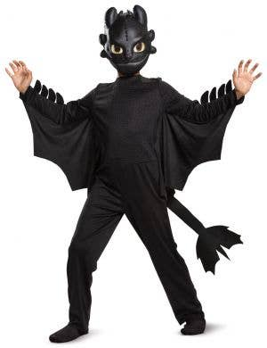 How To Train Your Dragon Boys Classic Toothless Costume